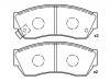 Pastillas de freno Brake Pad Set:55200-61880