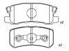Pastillas de freno Brake Pad Set:MN 102 628